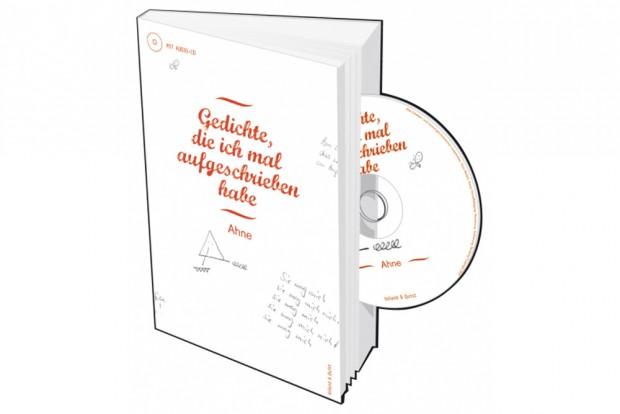 Ahne: Gedichte, die ich mal aufgeschrieben habe. Cover: Voland & Quist