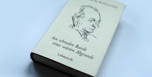 Heinrich Wiegand: Am schmalen Rande eines wüsten Abgrunds. Foto: Ralf Julke