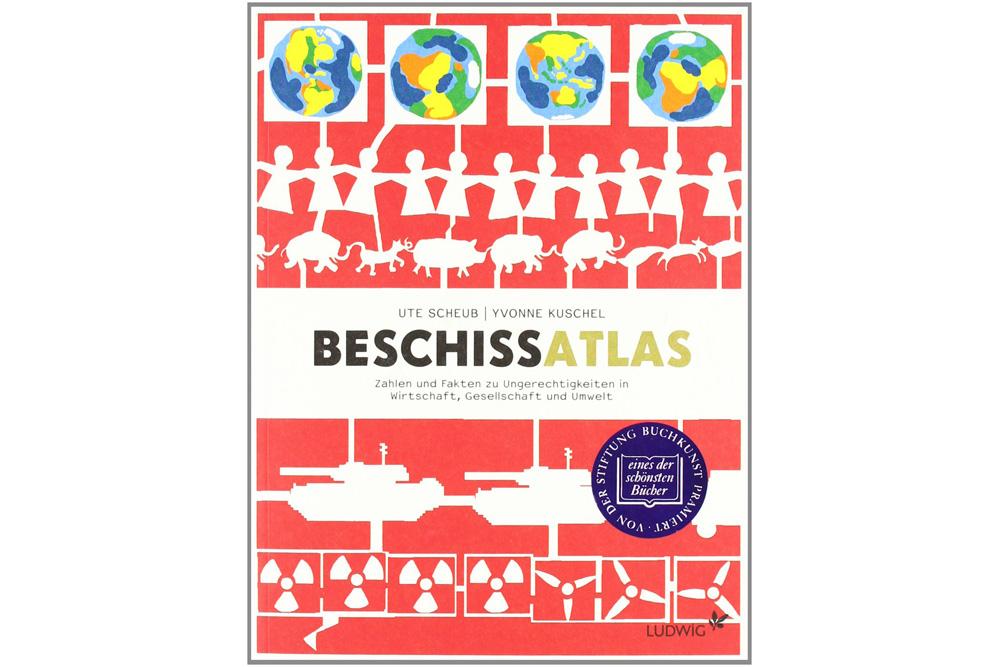 Beschissatlas. Cover: Ludwig Buchverlag