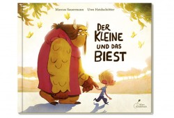 Marcus Sauermann, Uwe Heidschötter: Der Kleine und das Biest. Cover: Klett Kinderbuch