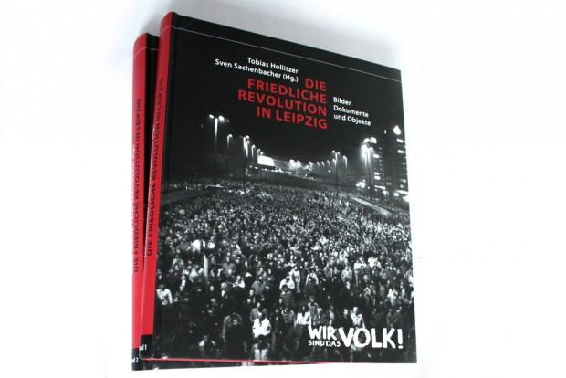 Tobias Hollitzer, Sven Sachenbacher: Die Friedliche Revolution in Leipzig. Foto: Ralf Julke