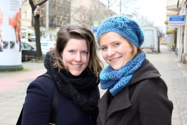 """Judith """"Jumi"""" Miriam Escherlor und Yvonne Wirth. Foto: Volly Tanner"""