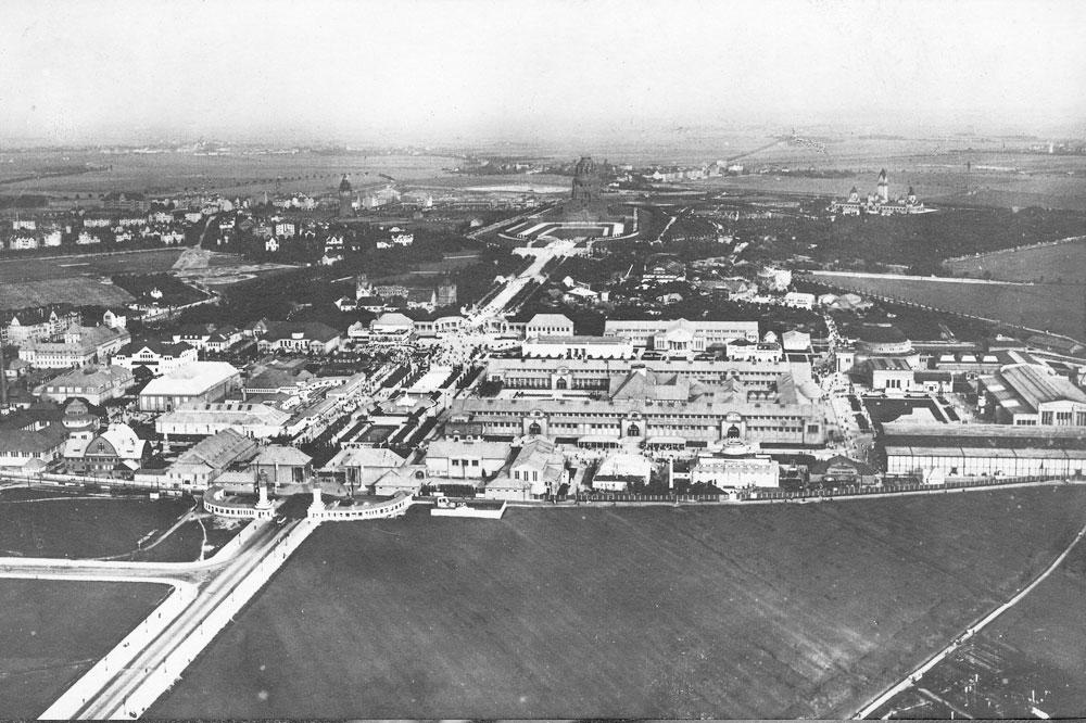 Leipzig im Jahr 1914: Wer hat den schönsten Balkon?