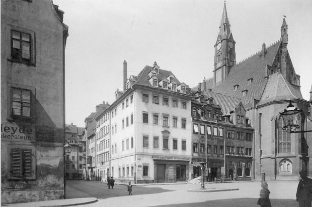 Nikolaikirche anno 1914. Foto: Stadtarchiv