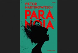 Viktor Martinowitsch: Paranoia. Cover: Voland & Quist