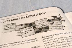 Interview mit Flüchtlingen. Foto: Patrick Kulow, Quelle: Broschüre BonCourage e.V.