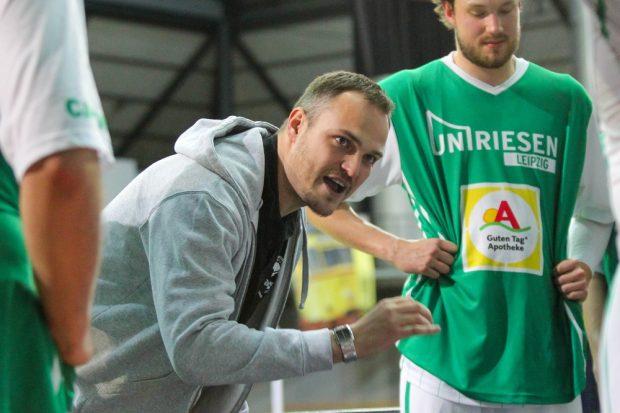 Martin Scholz kann mit dem bisherigen Ergebnissen seiner Uni-Riesen nicht zufrieden sein. Foto: Jan Kaefer