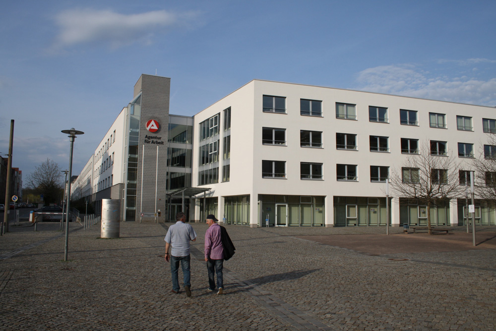 Arbeitsagentur Leipzig. Foto: Ralf Julke