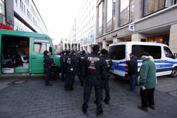 Alles dicht auf der Grimmaischen zum Augustusplatz. Foto: L-IZ.de