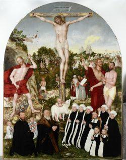 Lucas Cranach d.J.: Allegorie der Erlösung (1557). Foto: Museum der bildenden Künste Leipzig