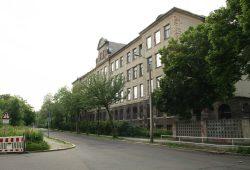 Die ehemalige Hermann-Liebmann-Schule in der Ihmelstraße soll ein neuer Oberschul-Campus werden. Foto: Ralf Julke