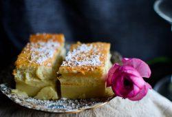 Magischer Kuchen. Foto: Maike Klose