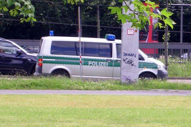 Polizeifahrzeug Foto: L-IZ.de