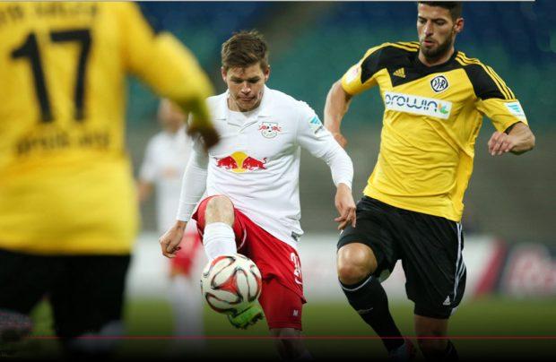 Sechs Tage vor dem Rückrundenstart trennten sich die Rasenballer ... Foto: RB Leipzig