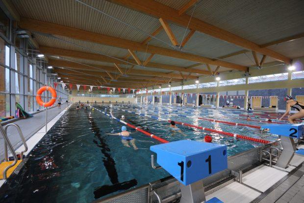 Schwimmbecken im Sportbad an der Elster. Foto: Sportbäder Leipzig GmbH