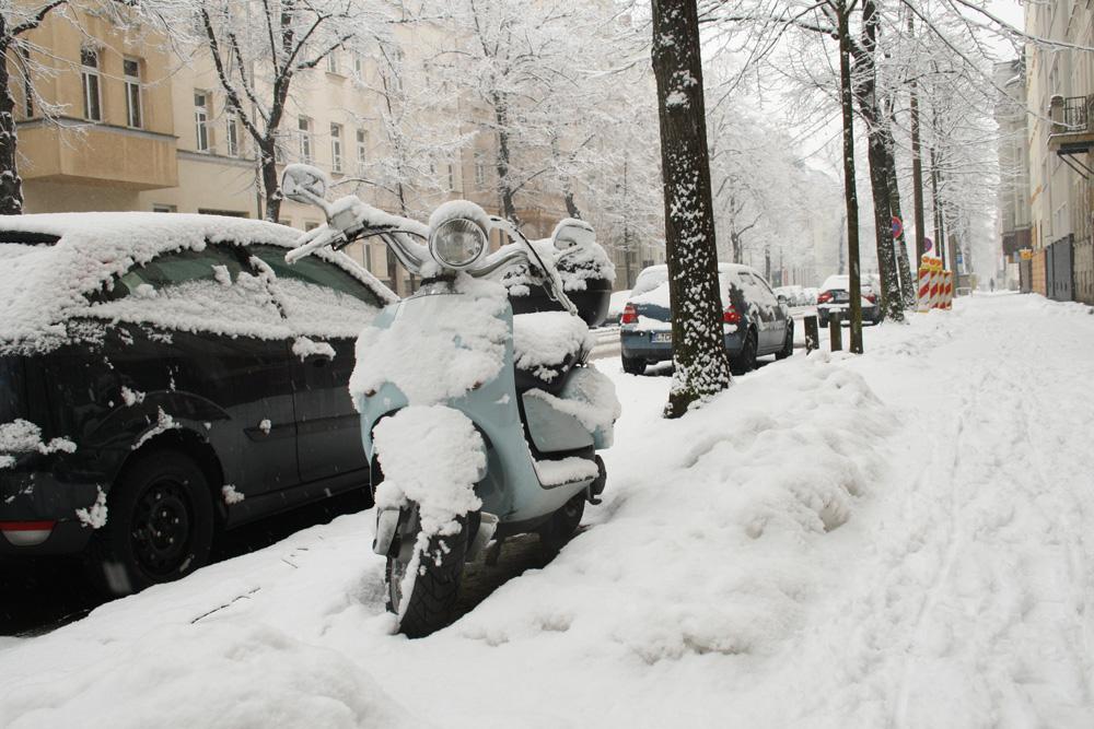 Der Winter 2013 - mit Schnee bis in den April. Foto: Ralf Julke