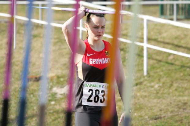 In den vergangenen beiden Jahren hatte Christine Winkler (LAZ Leipzig) die Speerwurf-Konkurrenz gewonnen und damit jeweils das einzige Leipziger Gold geholt. Foto: Jan Kaefer