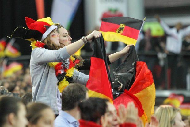 Die deutschen Fans hatten reichlich Grund zum Jubeln. Foto: Jan Kaefer