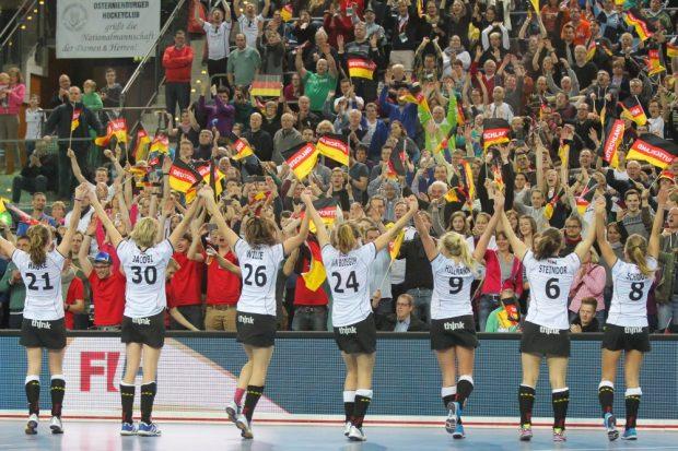 Geschafft, die deutschen Hockey-Frauen stehen im WM-Finale! Foto: Jan Kaefer