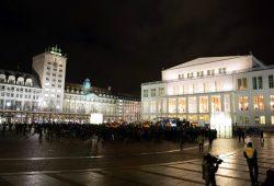 30. Januar 2015 in Leipzig: Legida schrumpft auf 1.500 Teilnehmer und hat sich längst radikalisiert. Foto: L-IZ.de