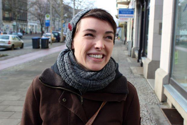 Anne Rab - Dem Kind einen Namen geben: Il Comico! Foto: Volly Tanner.