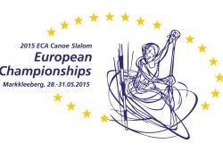 Logo der Kanu-Slalom-Europameisterschaften 2015