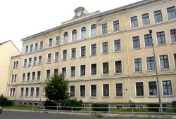 Die Ernst-Pinkert-Schule in Leipzig-Volkmarsdorf. Foto: Marko Hofmann