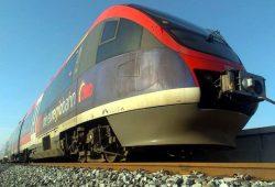 Täglich auf der Schiene im Regionalverkehr. Da der Zugführer anonym bleiben möchte, hat er für die L-IZ mal seinen Zug fotografiert. Foto: Privat