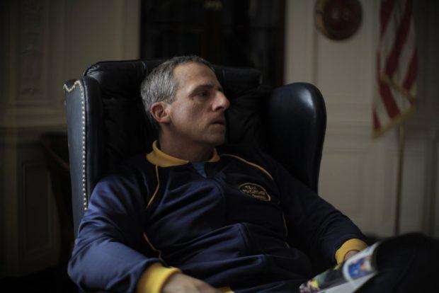 Was den Multimillionär John du Pont bewegte, ein Trainingscenter auf seinem Anwesen einzurichten, bleibt im Dunkeln. Foto: Koch Media