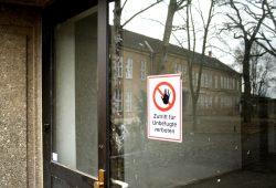 Die Herrichtung der Friederikenstraße 37 als Erstaufnahmeeinrichtung hat schon begonnen. Foto: Ralf Julke