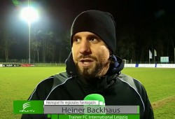 FCI-Trainer Heiner Backhaus spricht im Interview über das Spiel und die Veränderungen im Verein. Quelle: Heimspiel Fanmagazin