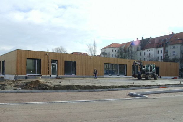 Außenansicht der neuen Kindertagesstätte in der Hildegardstraße. Foto: Outlaw Kinder und Jugendhilfe gGmbH