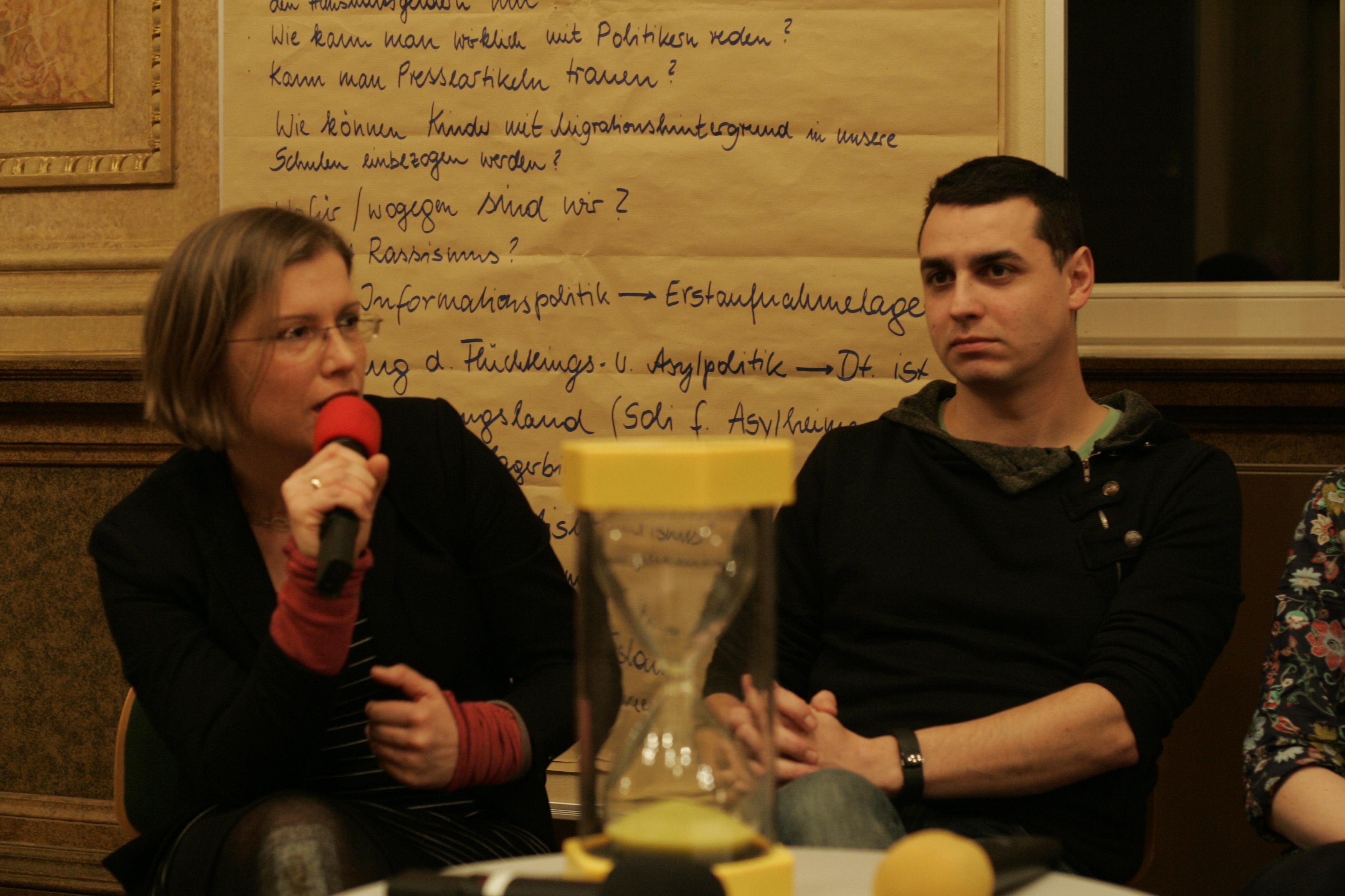 Auch Kommunalpolitikerin Skadi Jennicke ... Foto: Sebastian Beyer