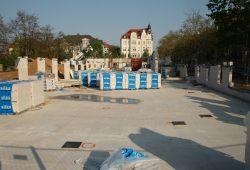 Die Kindertagesstätte in der Gohliser Straße im Frühjahr 2014 im Bau - mittlerweile schon im Betrieb. Foto: Ralf Julke