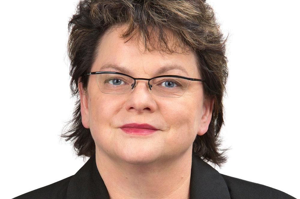 Kerstin Köditz (Linke). Foto: DiG/trialon