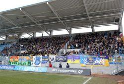 Am Sonntag waren auch gewaltbereite Lok-Fans im Stadion. Foto: Bernd Scharfe