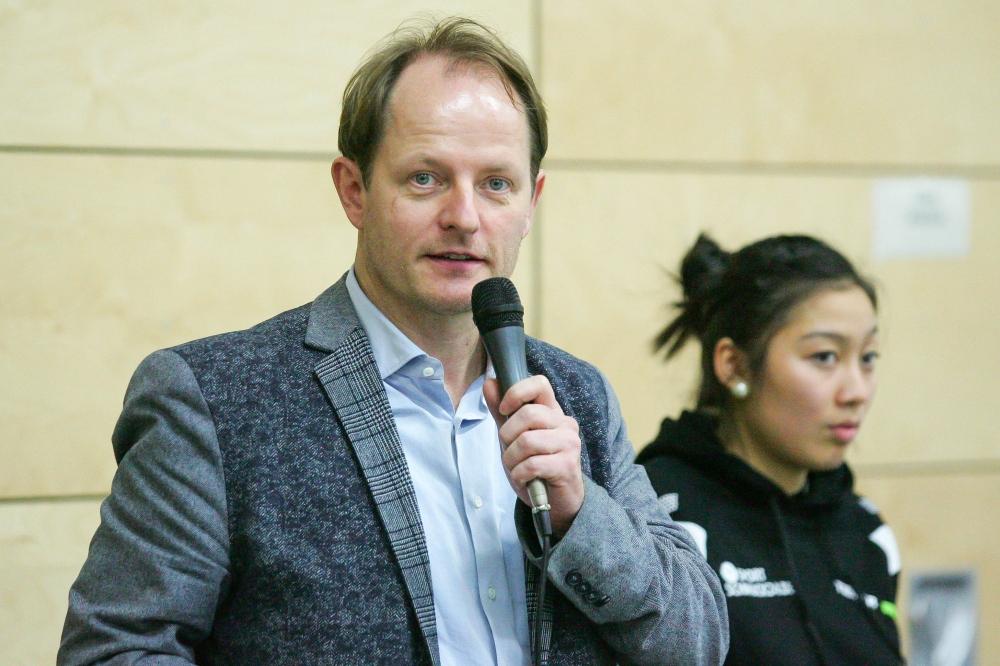 """Für LTTV-Präsident Christian Klas (Archivfoto) ist die Ehrung ein """"wichtiger Meilenstein, Tischtennis aus dem Schattendasein zu führen"""". Foto: Jan Kaefer"""