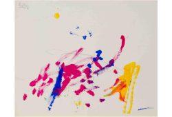 Malerei von Menschenaffen. Foto: Gesellschaft für Primatologie