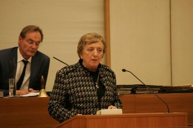 Margitta Hollick (Linke). Foto Sebastian Beyer