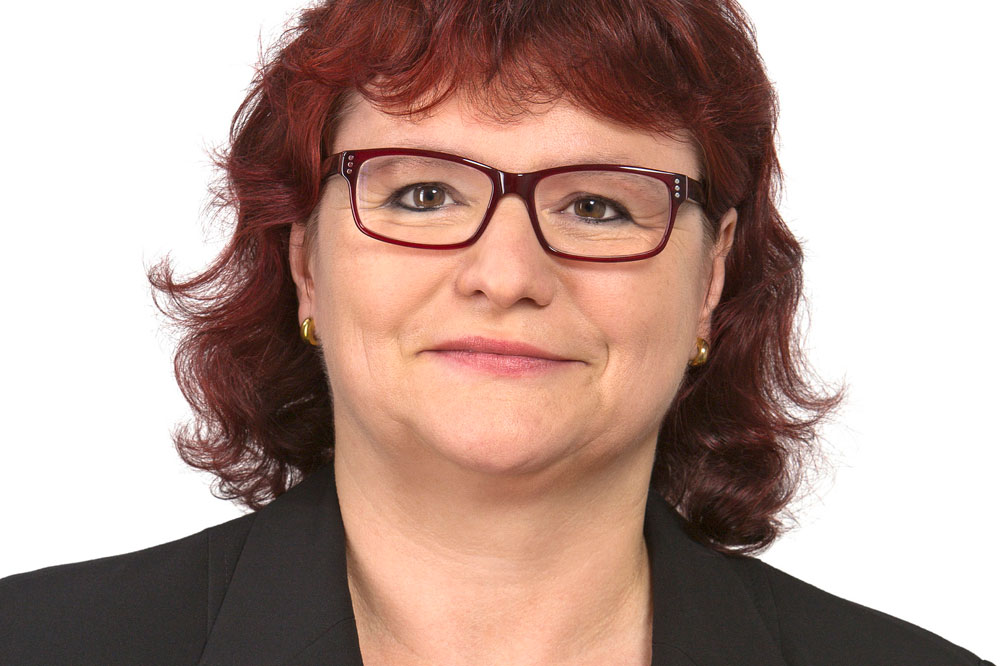 Marion Junge (Linke). Foto: DiG/trialon