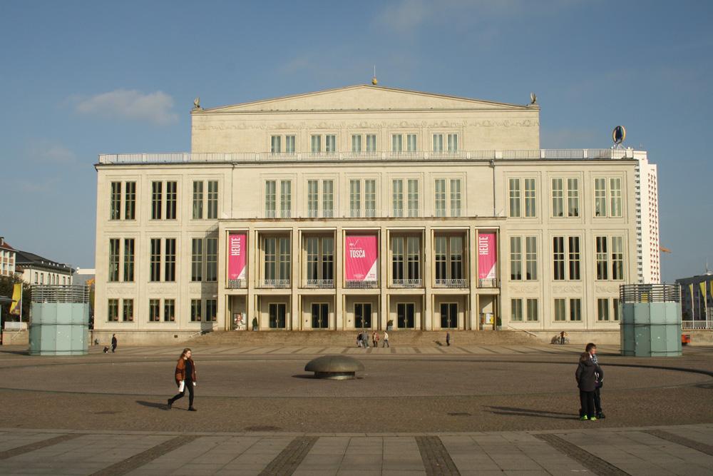 Das Opernhaus am Augustusplatz. Foto: Ralf Julke