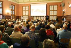 Bürgerforum zur Trassenplanung in Probstheida. Foto: Ralf Julke