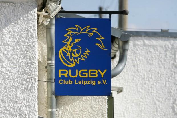 Zu Hause an der Stahmelner Straße: Der Rugby Club Leipzig.