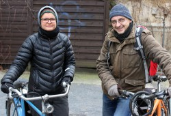 Kümmern sich um die tierärztliche Grundversorgung von Haustieren sozialbedürftiger Menschen - Katrin und Tino. Foto: Volly Tanner