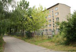 Die Unterkunft Torgauer Straße 290 im jetzigen Zustand. Foto: Ralf Julke