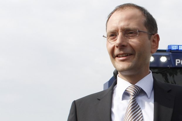 Sachsens Innenminister Markus Ulbig. Foto: Martin Schöler