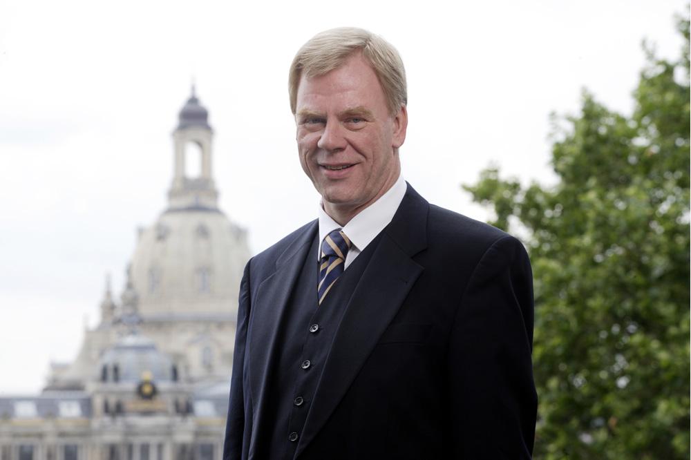 Staatsminister Prof. Dr. Georg Unland (CDU). Foto: SMF/momentphoto, Oliver Killig