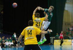 Philipp Webers Einsatz ist nach einer Muskelverletzung noch ungewiss Foto: SC DHfK