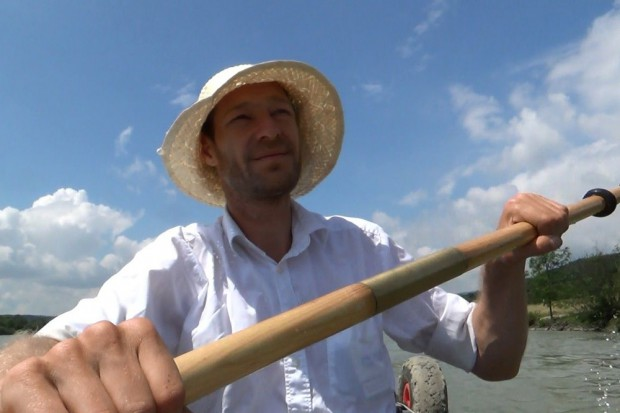Unterwegs auf Paddeltour auf der Donau. Foto: privat