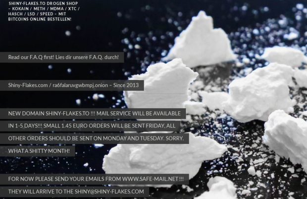 Drogenwebsite shiny-flakes.to